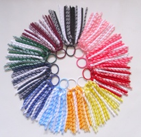 Gingham School Korker Streamers