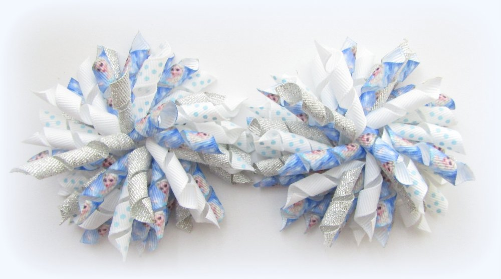 Disney Frozen Elsa Korker Hair Bows