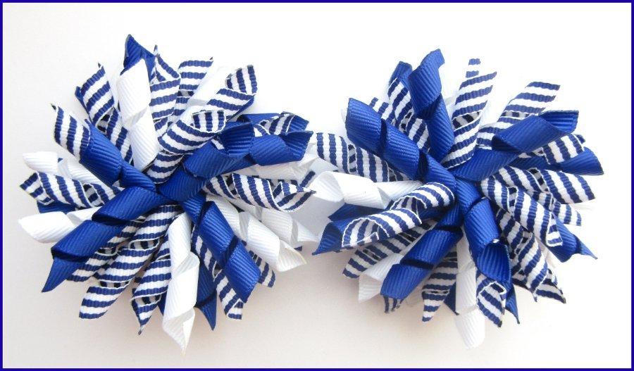 Stripe Korker Bows