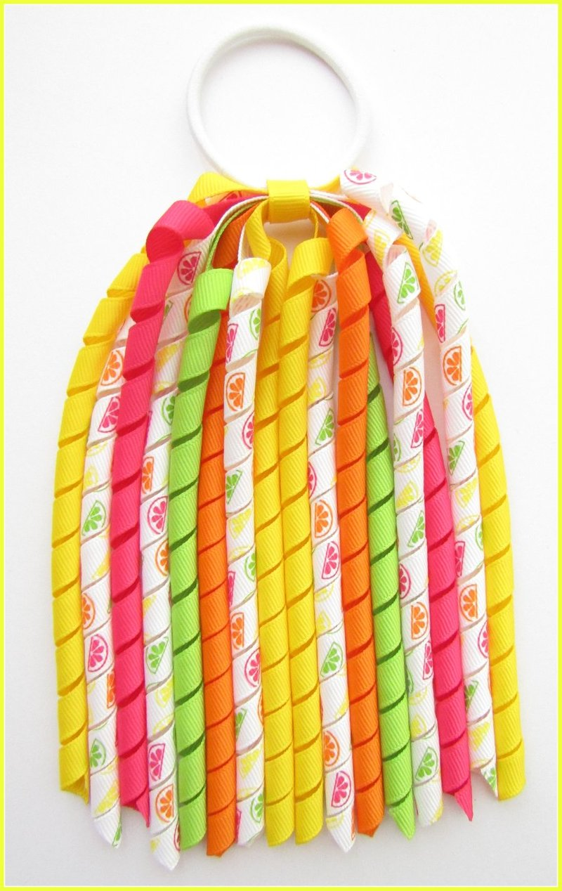 Summer Citrus Fruits Korker Streamer