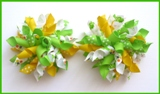 Daisy Days Alligator Korker Hair Bows