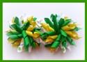 A Pop of Daisies Green Mix Korker Hair Bows