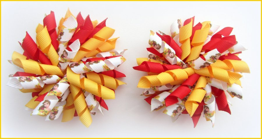 Disney Princess Belle Korker Hair Bows
