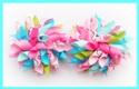 Hello Kitty Summer Flower Korker Hair Bows
