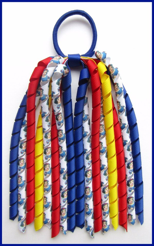 Disney Princess Snow White Korker Ponytail Streamer