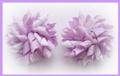 Lilac Polka Dots Korker Hair Bows