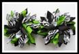 Mod Zebra Korker Hair Bows